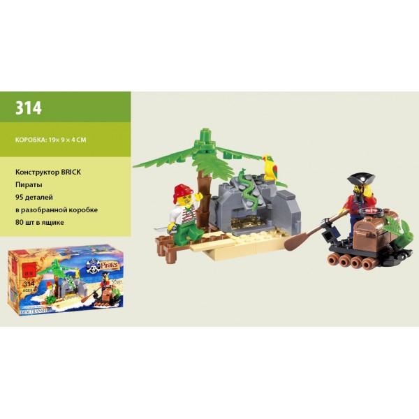 "Конструктор ""Brick"" 314 (705566)"