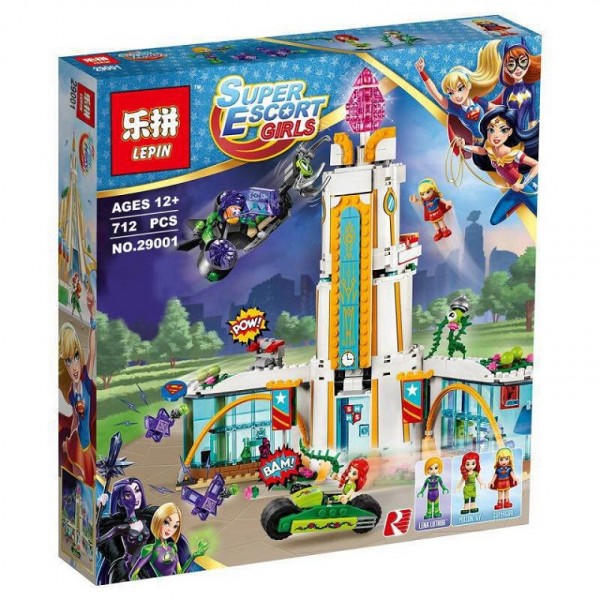 Конструктор LEPIN SUPER HERO GIRLS 29001