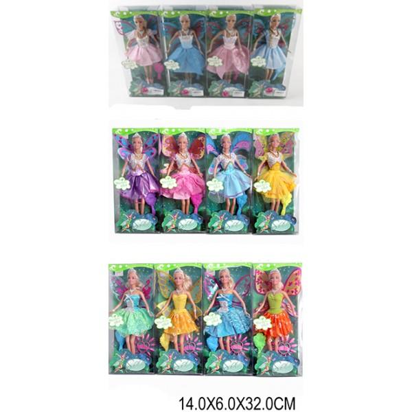 """Кукла """"Фея"""" (1264377/78/88) (LS20141/2/3)"""