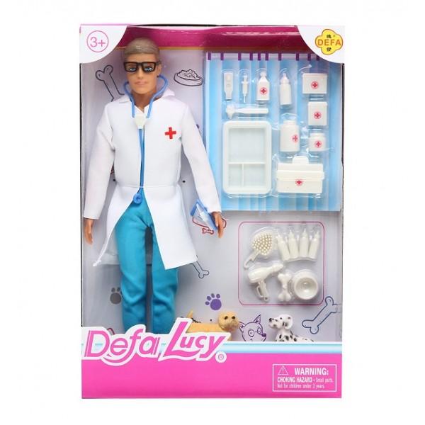 "Кукла ""Кен""Defa Lucy""Ветеринар""  (8347)"