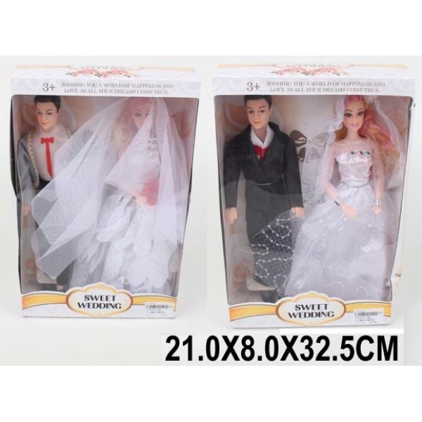 """Кукла """"Невеста"""" (1670063/64) (28A/B)"""