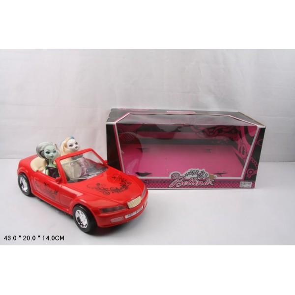 """Кукла с машиной """"MH"""" (66546)"""