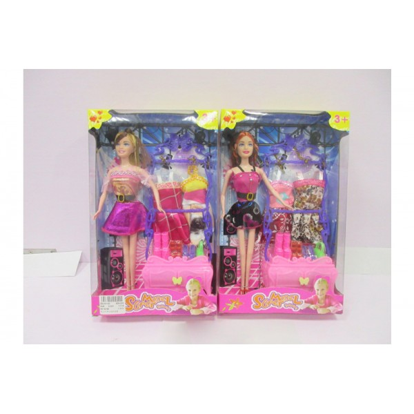"""Кукла типа """"Барби""""  (829-225)"""