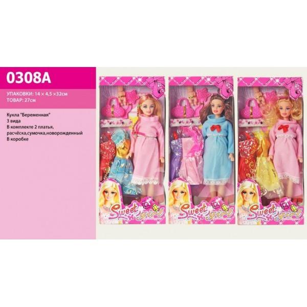 "Кукла типа ""Барби Беременная"" (0308A)"