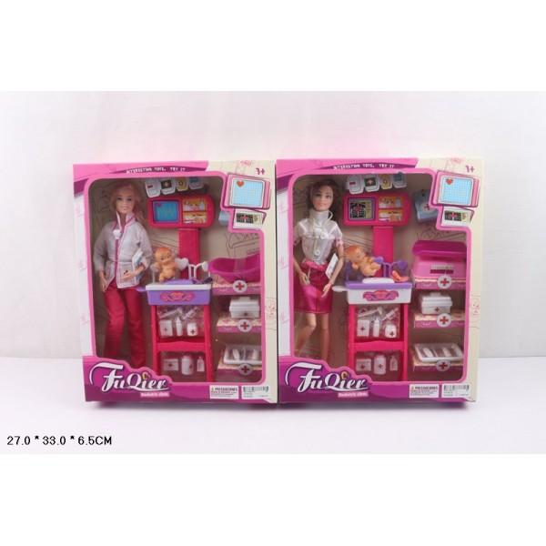 """Кукла типа """"Барби""""Доктор"""" (JX100-23)"""