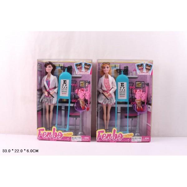 "Кукла типа ""Барби""Окулист"" (FB045)"
