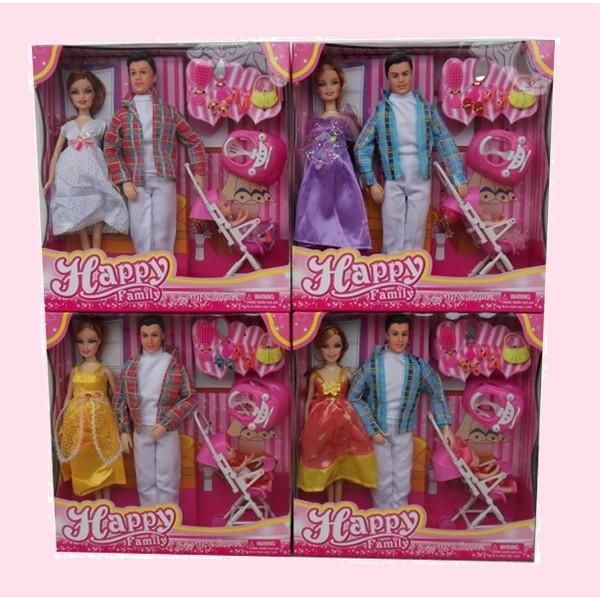"Кукла типа Барби""Семья"" (116-31B)4"