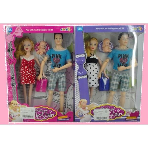 "Кукла типа ""Барби""Семья"" (5103"