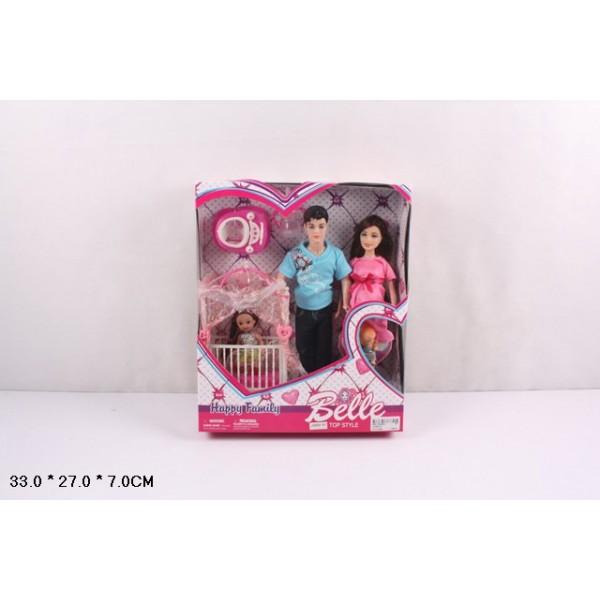 "Кукла типа ""Барби""Семья"" (JX600-97)"