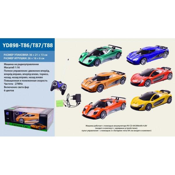 Машина батар р/у YD898-T86/T87/T88
