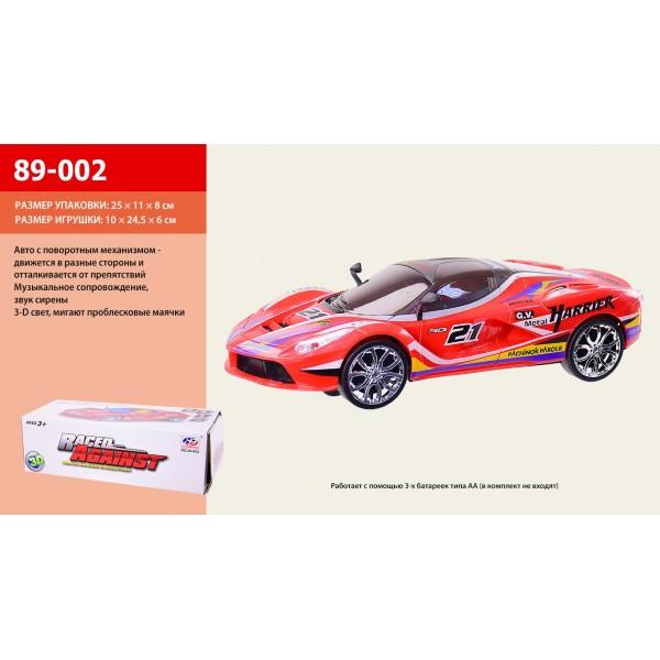 Машина на батарейках 89-002