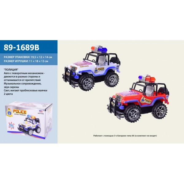 Машина на батарейках 89-1689B