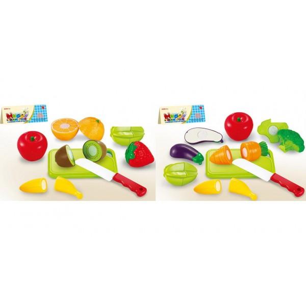 Овощи и фрукты (666-17/19)