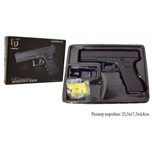 Пневматический Пистолет метал-пластик J21