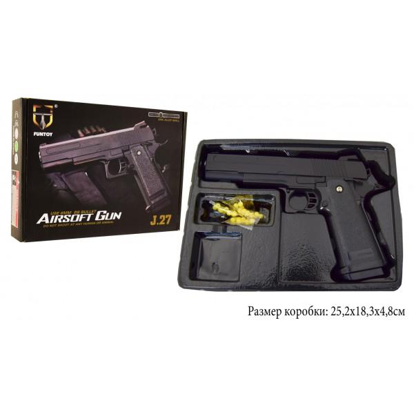 Пневматический Пистолет метал-пластик J27