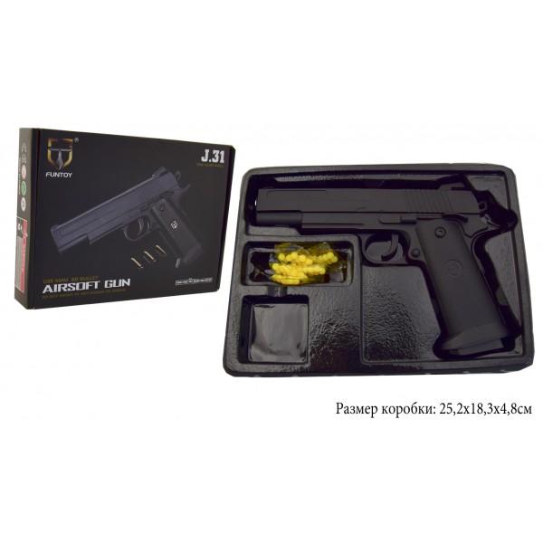 Пневматический Пистолет метал-пластик J31