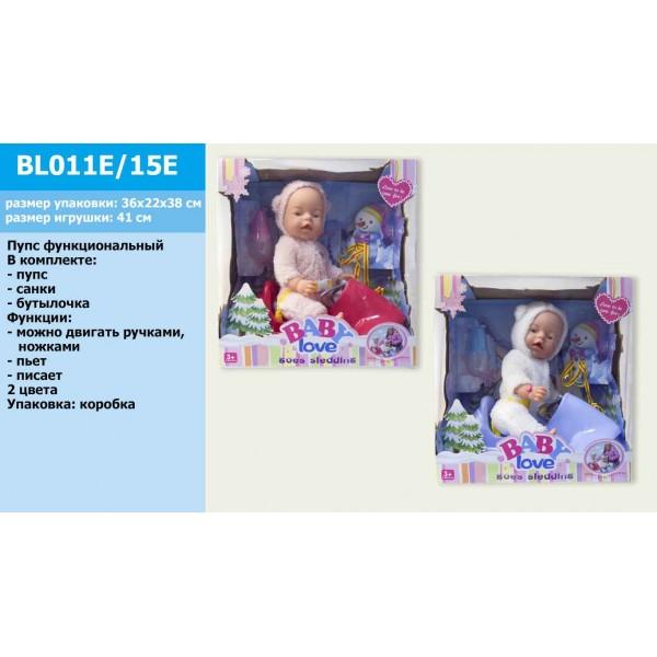 "Пупс функциональный ""BB"" BL011E/15E"