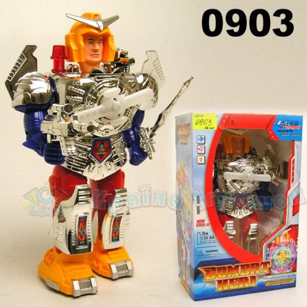 Робот на батарейках 0903