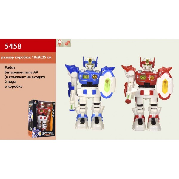 Робот на батарейках 5458