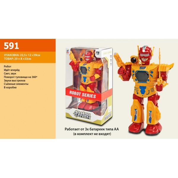 Робот на батарейках 591