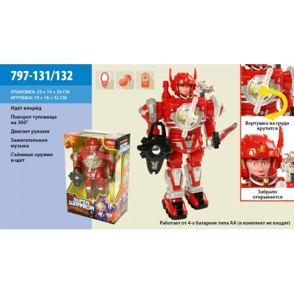 Робот на батарейках 797-131/132