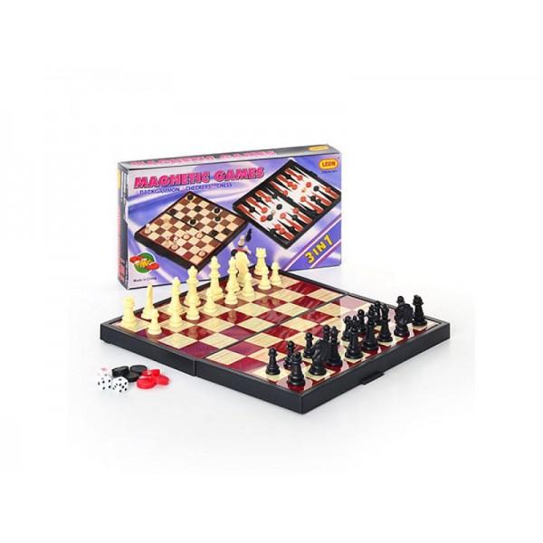 Шахматы магнит 9831 (96шт/2)
