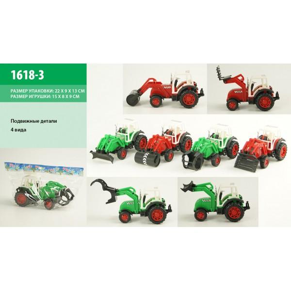 Трактор инерц (1618-3)
