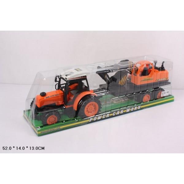 Трактор инерц (666-9C)