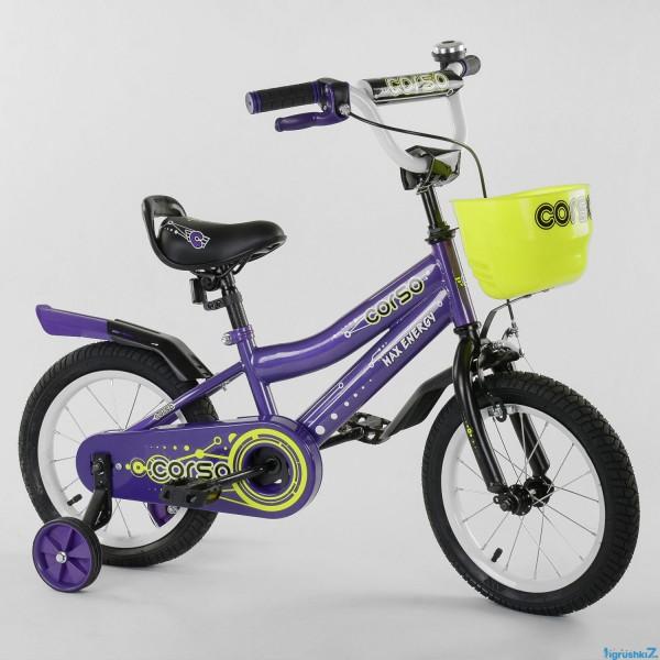 """Велосипед 14"""" дюймов 2-х колёсный R - 14002 """"CORSO"""" (1)"""