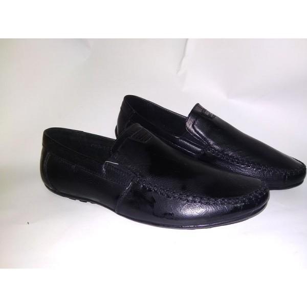 Туфли черные школьные