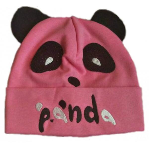 Шапка - панда