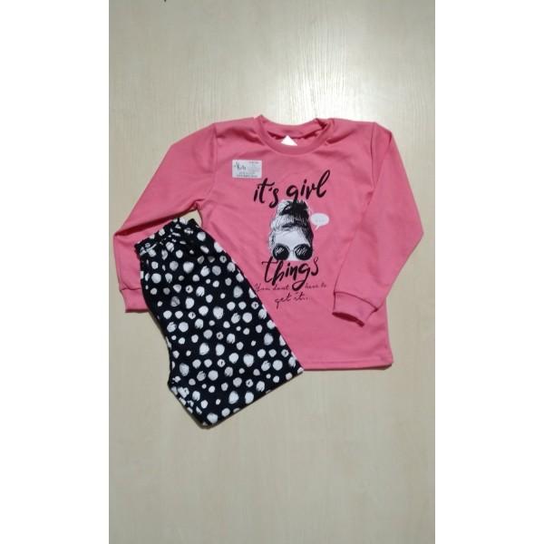 Пижама для девочки, ZB-PZ814