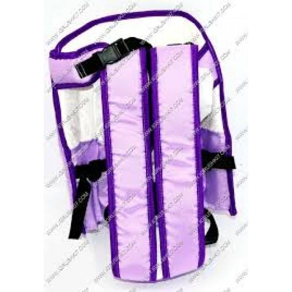 Рюкзак-кенгуру №6 (1) сидя, цвет фиолетовый