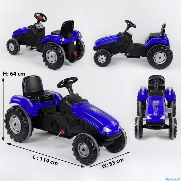 Трактор педальный 07-321 BLUE (1)