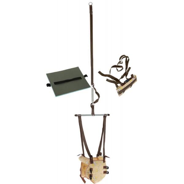 Тренажёр-прыгунки (1) цвет бежевый