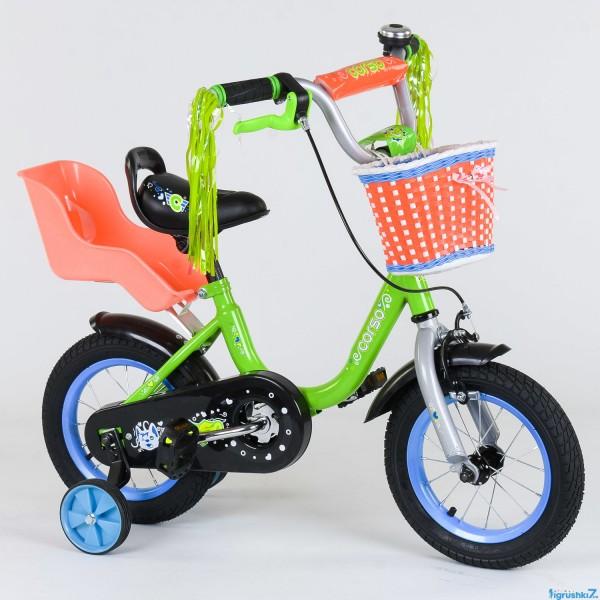 """Велосипед 12"""" дюймов 2-х колёсный 1204 """"CORSO"""" (1)"""
