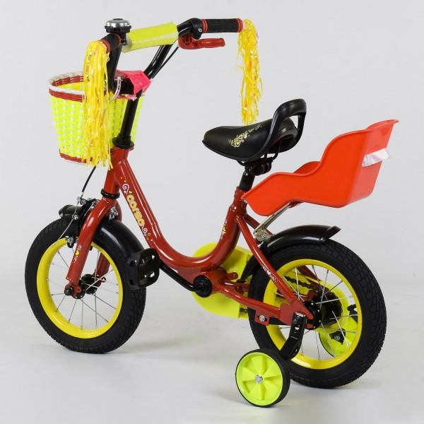 """Велосипед 12 """"дюймов 2-х колёсный 1294"""" CORSO"""" (1)"""