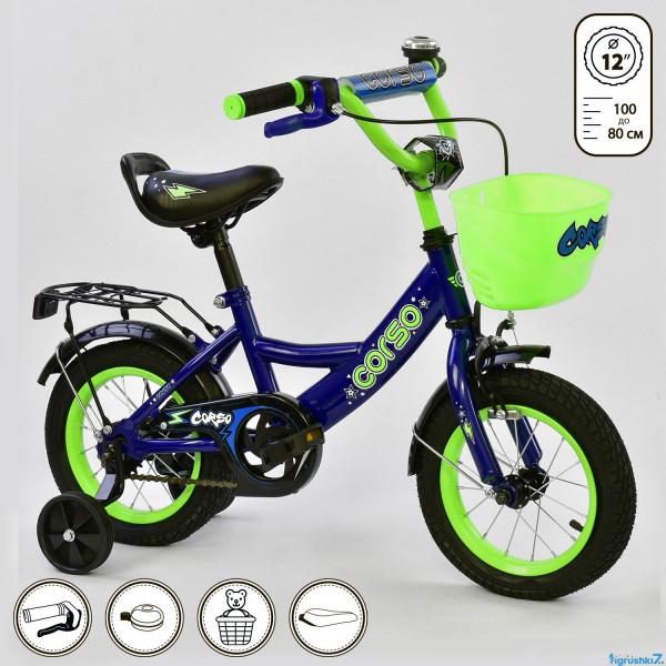 """Велосипед 12"""" дюймов 2-х колёсный G-12099 """"CORSO"""" (1)"""