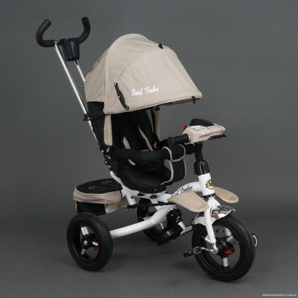 "Велосипед ""Best Trike"" 3-х колёсный 6595 БЕЖЕВЫЙ (1)"