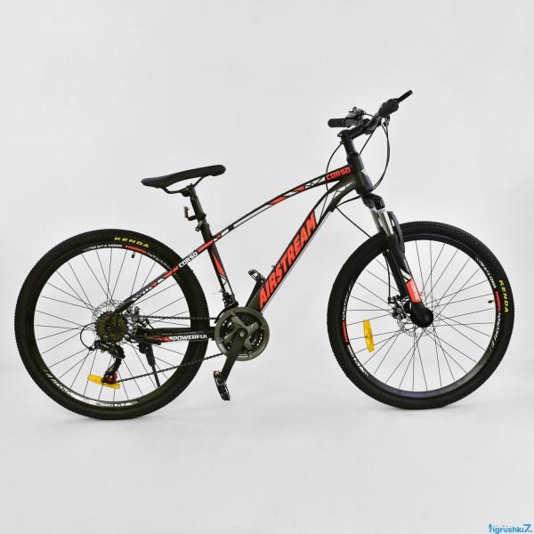 """Велосипед Спортивный CORSO AIRSTREAM 26""""дюймов JYT 002 - 8345 BLACK-RED"""