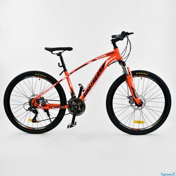 """Велосипед Спортивный CORSO AIRSTREAM 26""""дюймов JYT 002 - 8108 ORANGE-BLACK (1)"""