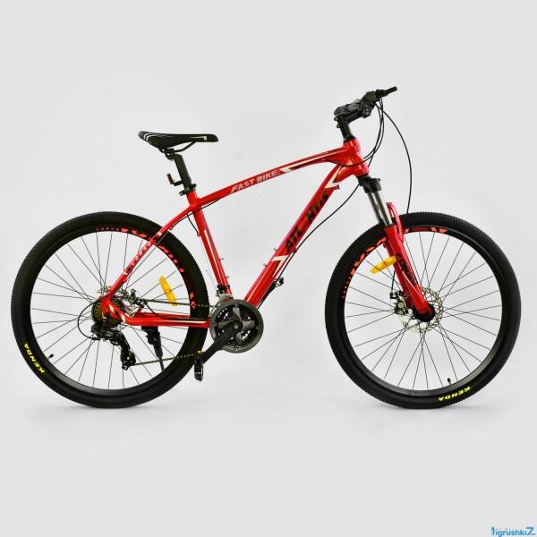 """Велосипед Спортивный CORSO ATLANTIS 27,5""""дюйма JYT 008 - 7201 RED (1)"""