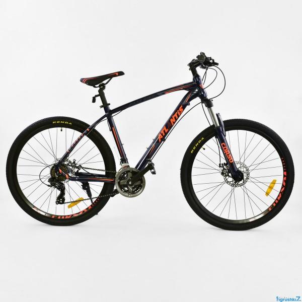 """Велосипед Спортивный CORSO ATLANTIS 27,5""""дюйма JYT 008 - 7308 BLACK-ORANGE (1)"""