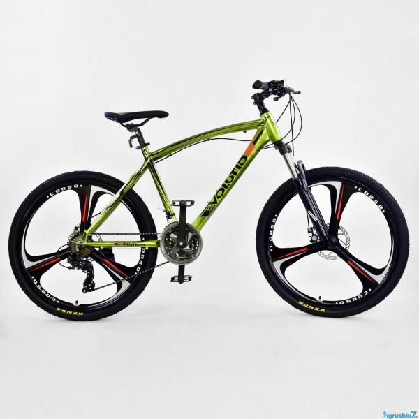 """Велосипед Спортивный CORSO EVOLUTION 26""""дюймов JYT 007 - 2270 GREEN (1)"""